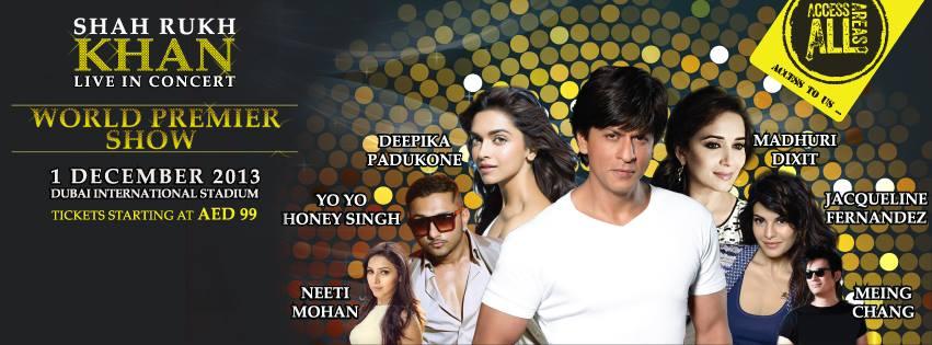 Access All Areas-Shah Rukh Khan and Deepika Padukone in Dubai