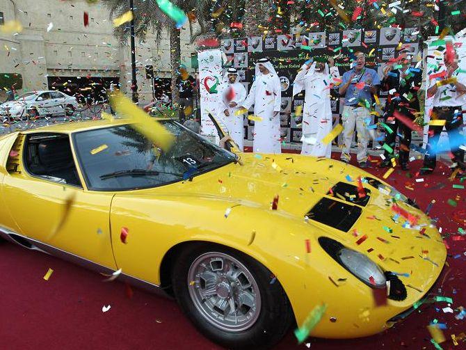 Emirates Classic Car Festival 2014 Dubai Uae Events In Dubai Uae