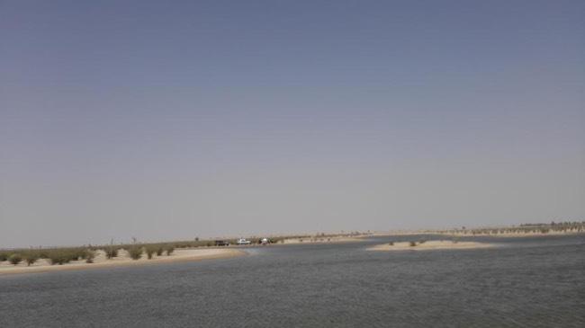 Al-Qudra-Lake