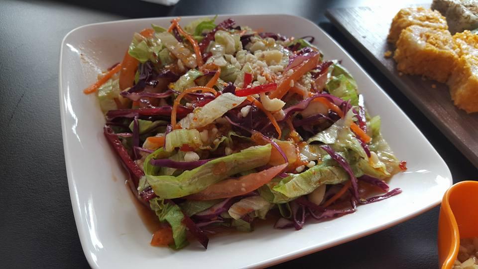Moshi Salad - Moshi Restaurant Dubai Review