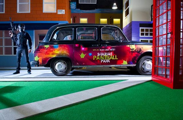 Sharjah Paintball Park - Sharjah, UAE.