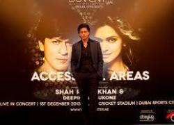 Access All Areas – Shah Rukh Khan and Deepika Padukone in Dubai