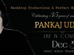 Pankaj Udhas Live in Concert, Dubai – Events in Dubai, UAE
