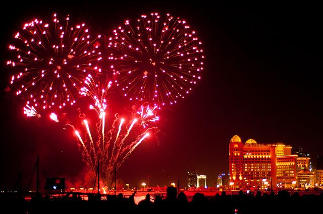 Eid Fireworks 2013 Dubai