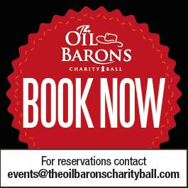 The Oil Barons Charity Ball 2014