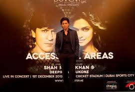 Access All Areas – Shah Rukh Khan and Deepika Padukone in Dubai