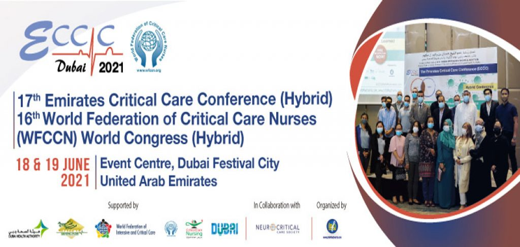 17th Emirates Critical Care Conference - 2021 Event in Dubai, UAE