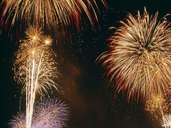 DSF 2017 Fireworks - Dubai Shopping Festival 2017 Fireworks - UAE