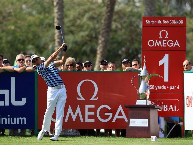Omega Dubai Desert Classic 2014