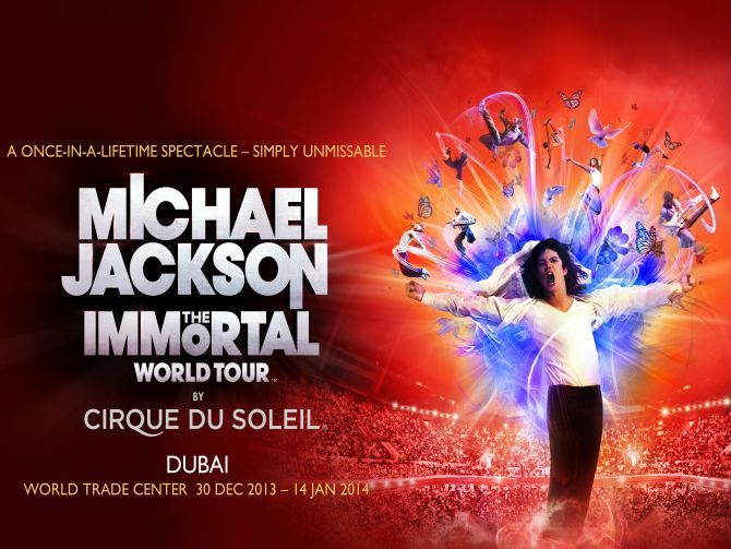 Michael Jackson – The Immortal World Tour in Dubai