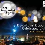 Dubai Festival of Lights, Ville de Lyon's Festival of Lights, Festival of Lights, Light Festival, Waterfront, Burj Khalifa