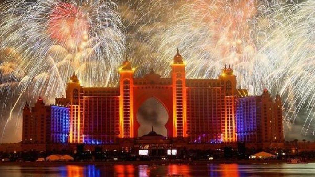 2019 New Year Fireworks Abu Dhabi