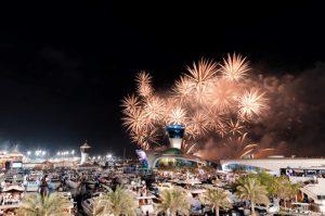 2019 New Year Fireworks Abu Dhabi Cipriani