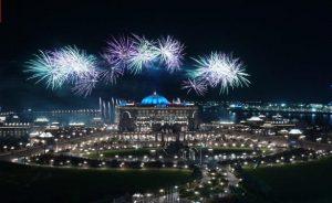 2019 New Year Fireworks Abu Dhabi Emirates Palace
