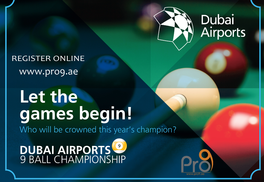 3rd Dubai Airports 9ball Championship | Events in Dubai