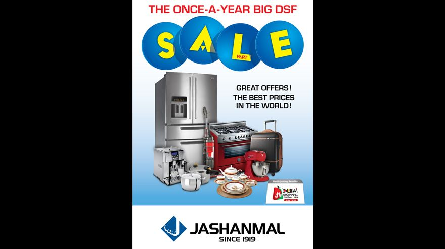 The Jashanmal Once-A-Year Big DSF Part Sale