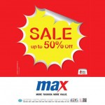 Max Fashion - 50% Discount in DSF 2014