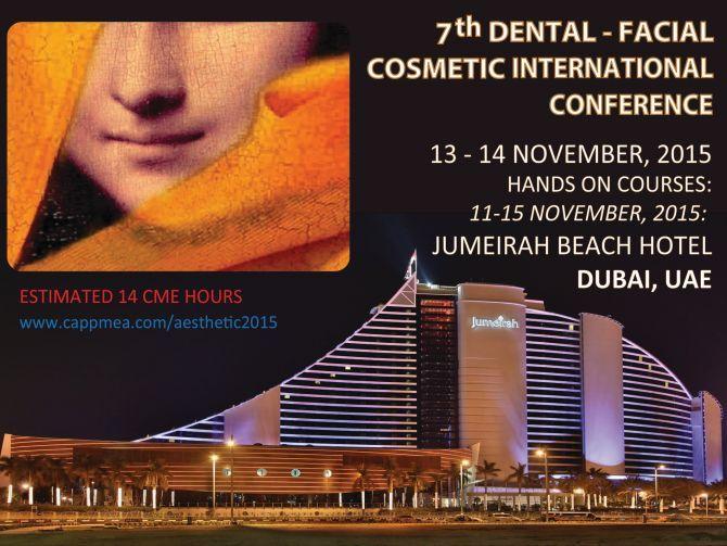 7th Dental Facial Cosmetic International Conference, Dubai