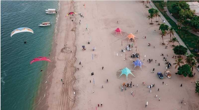 Activities in Khor Fakkan Beach