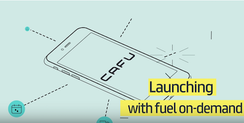 CAFU on-demand fuel delivery service Dubai