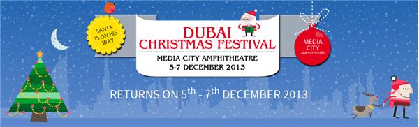 Dubai Christmas Festival 2013