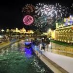 Dubai Global Village fireworks timing