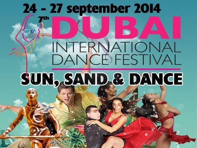 Dubai International Dance Festival 2014 Event