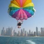 Dubai-Parasailing