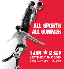 Dubai Sports World 2017 is indoor sports event for summer from 01 Jun to 02 Sep