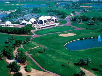 Emirates Golf Club in Dubai