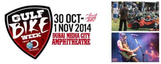 Gulf Bike Week 2014 Dubai Event