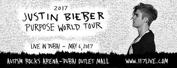 Justin Bieber Live in Dubai 2017