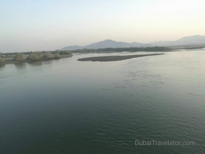Kalba Sharjah UAE with beautiful Kalba creek, nature reserve & mangrove