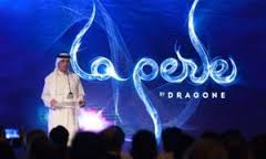 La Perle by Dragon aqua theatre Dubai at Al Habtoor City near Business Bay