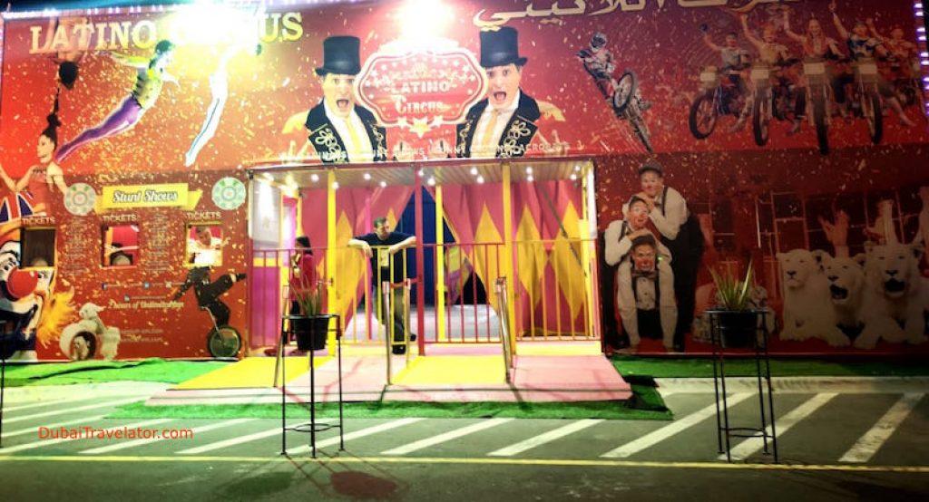 Latino Circus Last Exit Al Khawaneej Dubai - The Yard Latino Circus