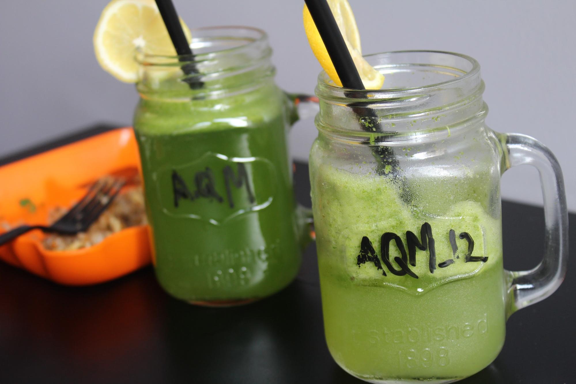 Lemonade and Mint drink - Moshi Restaurant Dubai Review