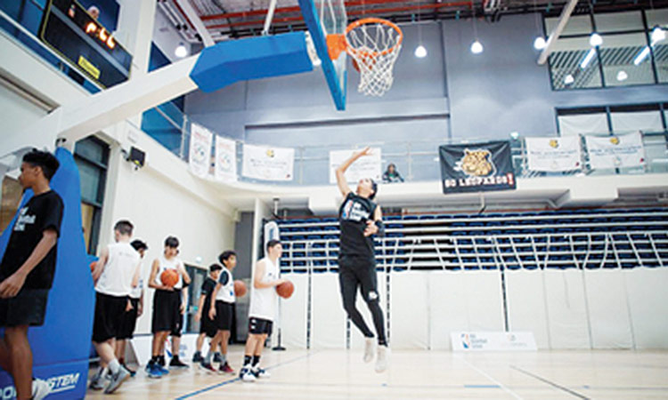 Nike x NBA Basketball Clinics Dubai 2019 on Nov 8th – 9th at Kite Beach Basketball Court
