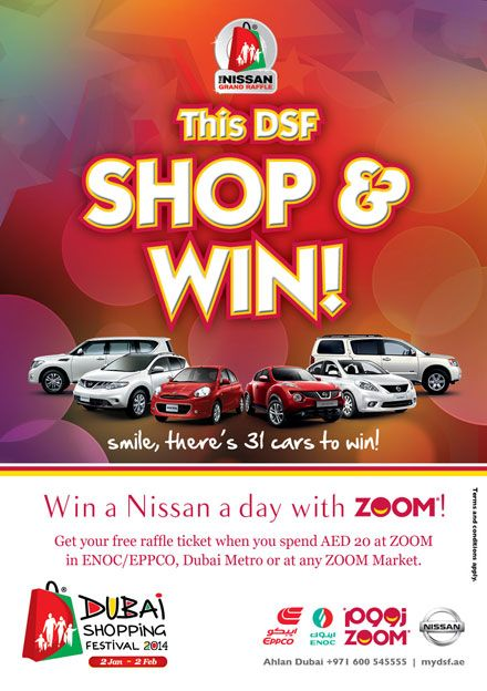 Nissan Grand Raffle DSF 2014