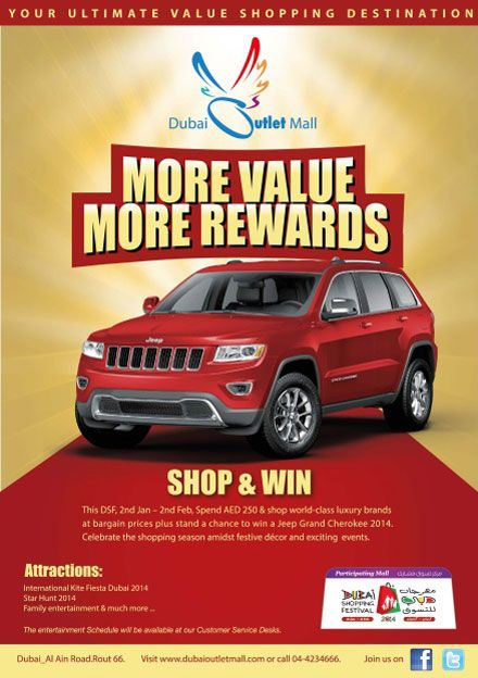 Jeep Grand Cherokee DSF 2014 Raffle