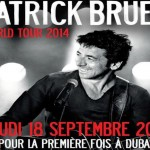 Ptrick Bruel World Tour 2014