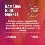 RAMADAN NIGHT MARKET 2018 Dubai
