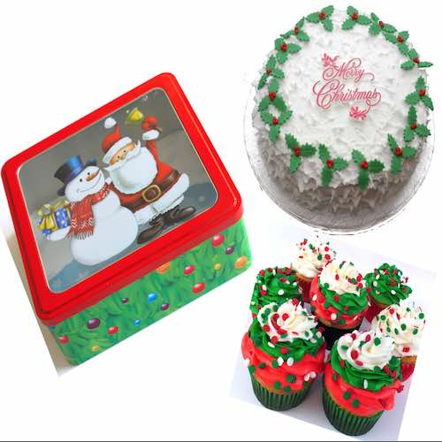 Christmas cake delivery in UAE