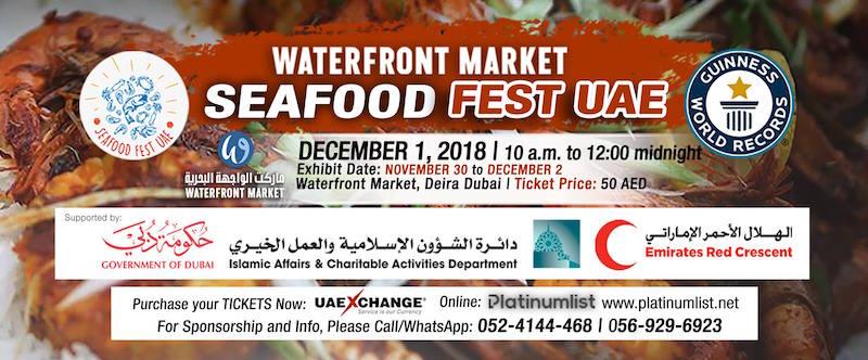 Seafood fest UAE 2018