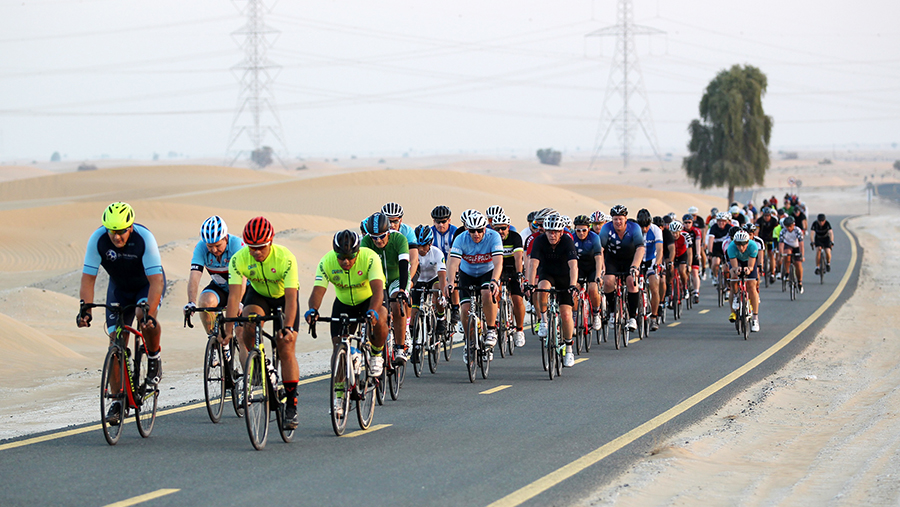 Spinneys Dubai 92 Cycle Challenge Build-Up Ride 2