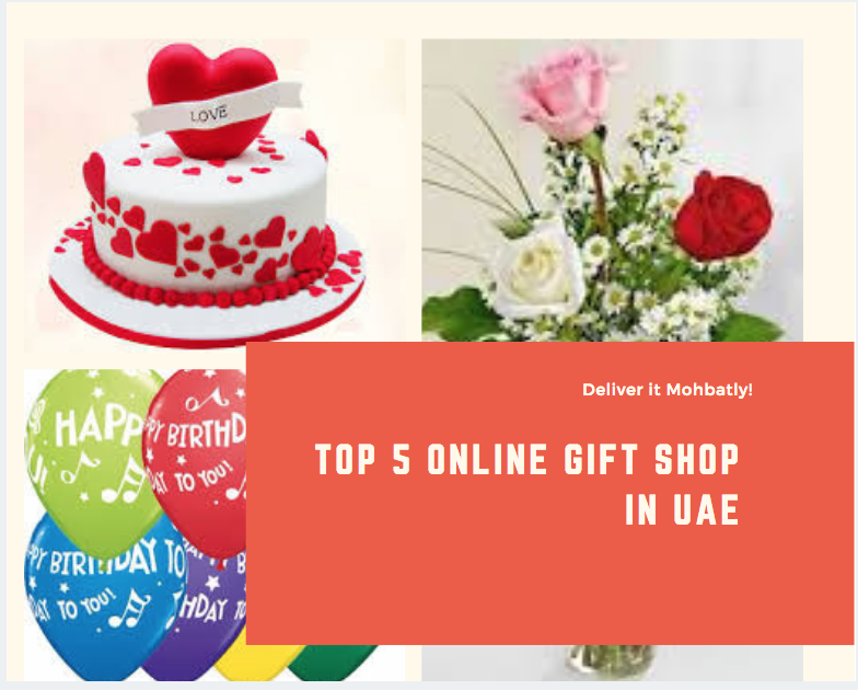 Top 5 Online gift shop in UAE