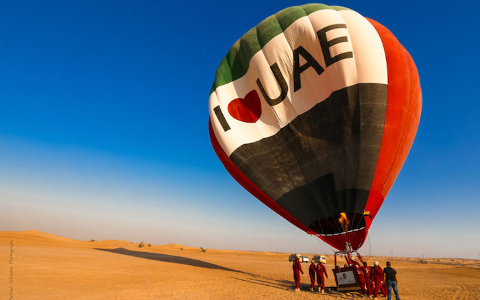 Balloon Ride Dubai – Adventures ride in Dubai sky with falcons