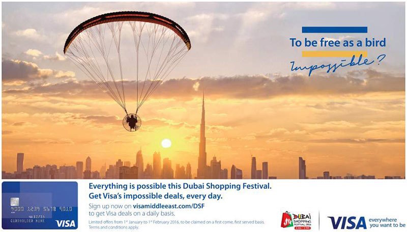 VISA impossible deals Dubai DSF 2017