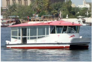 Dubai Water Transport - Water Bus in Dubai
