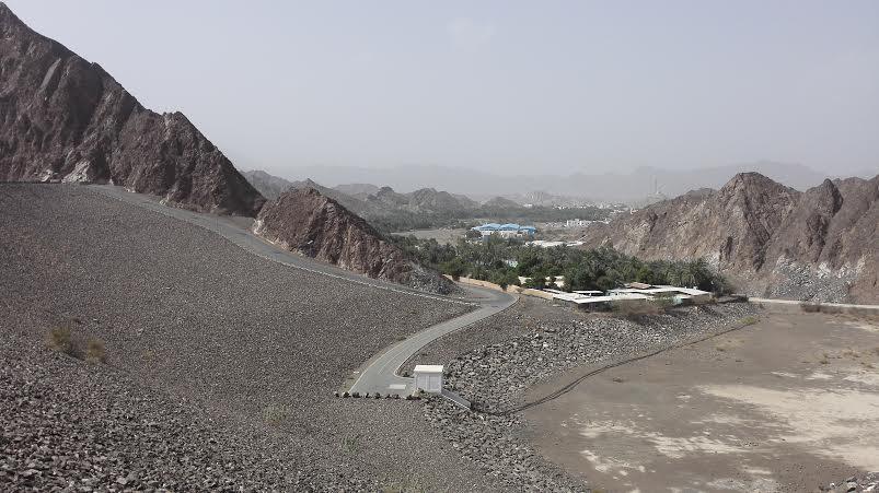 Hatta dam in uae Dubai - Way Towards Hatta Dam