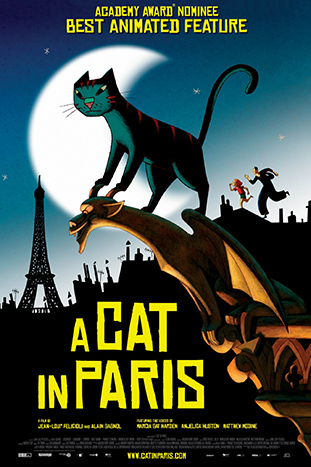 A Cat In Paris at Cinema Akil Dubai 2019